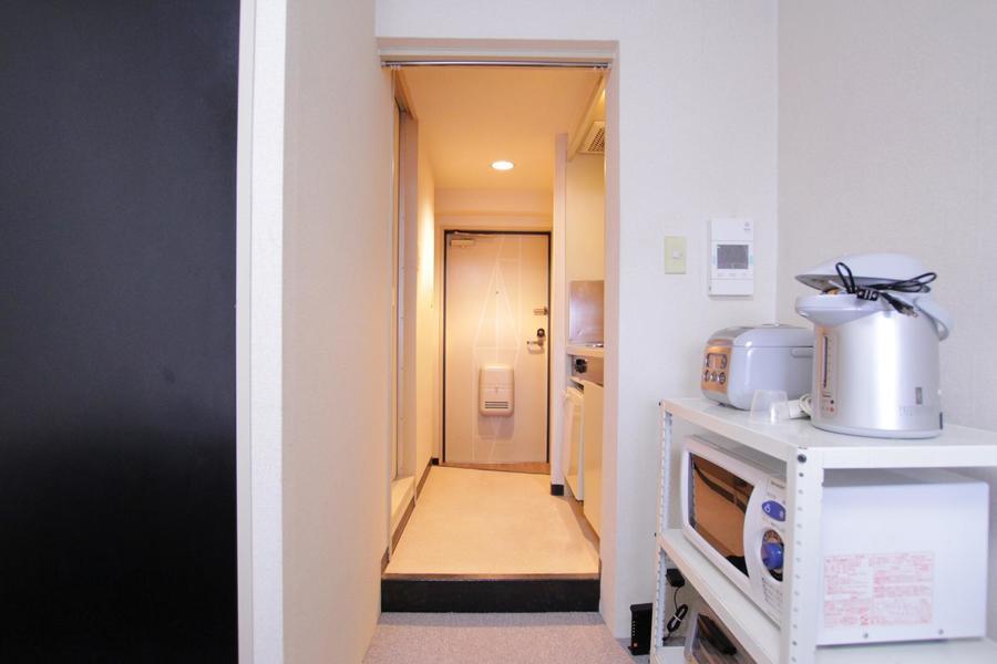 お部屋と廊下の間には仕切りがないため見通しもすっきり