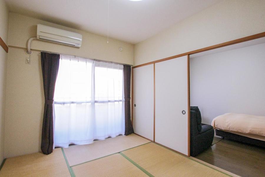 洋室側は一面襖仕様。お客様の生活スタイルに合わせてお使いいただけます