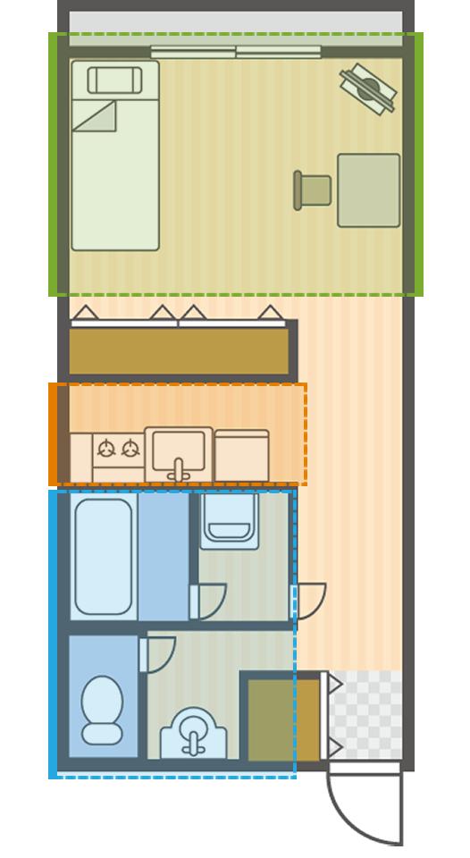 お部屋の設備・備品